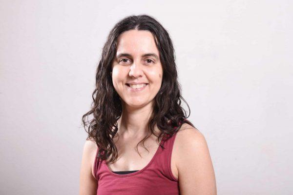 Sílvia Gallego. Profesora de yoga