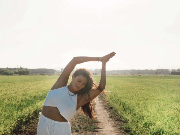 Aida Giner Profesora de yoga